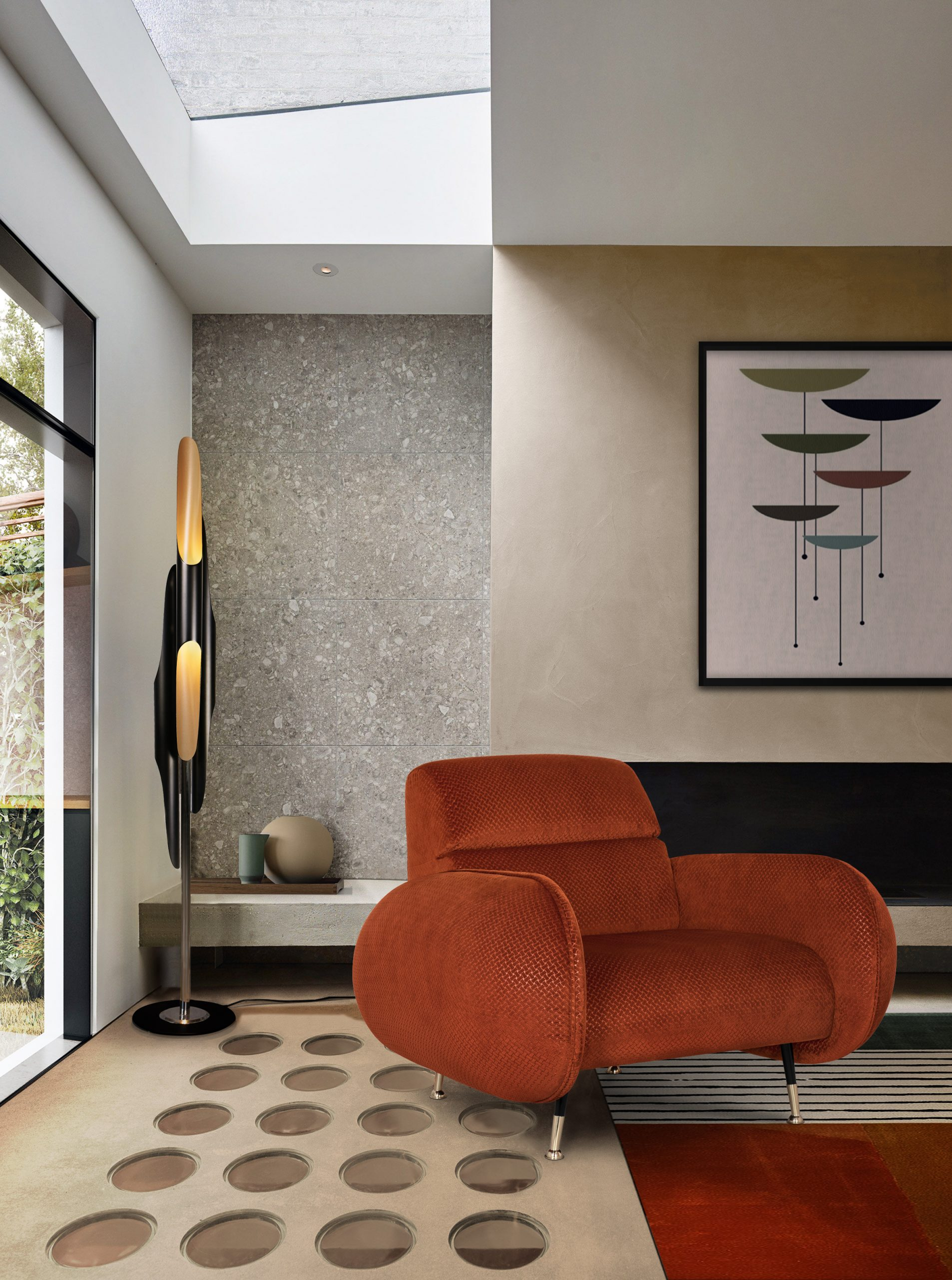 MID-CENTURY INSPIRED SPACE