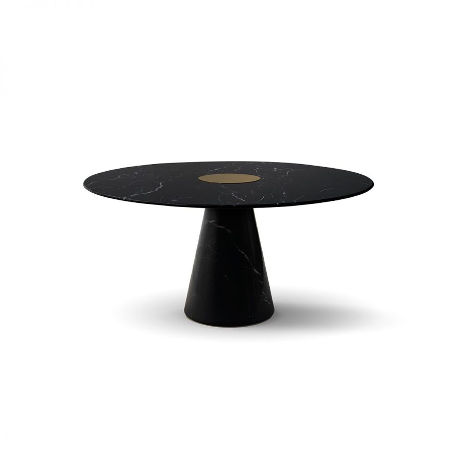 BERTOIA ROUND DINING TABLE