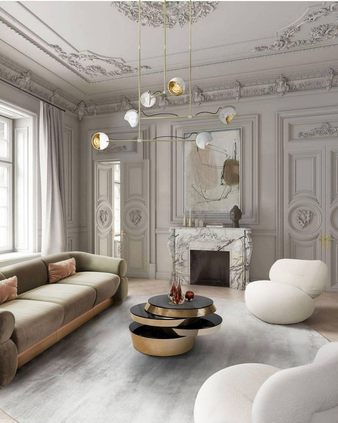 GET INSPIRE BY THIS LUXURIOUS LIVING ROOM