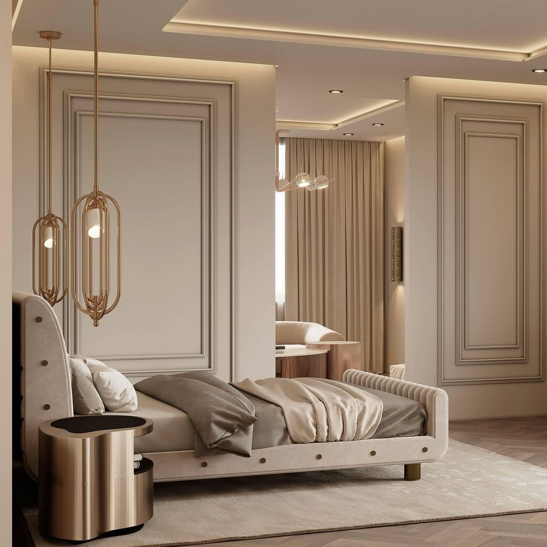 AN ELEGANT AND SOPHISTICATED BEDROOM