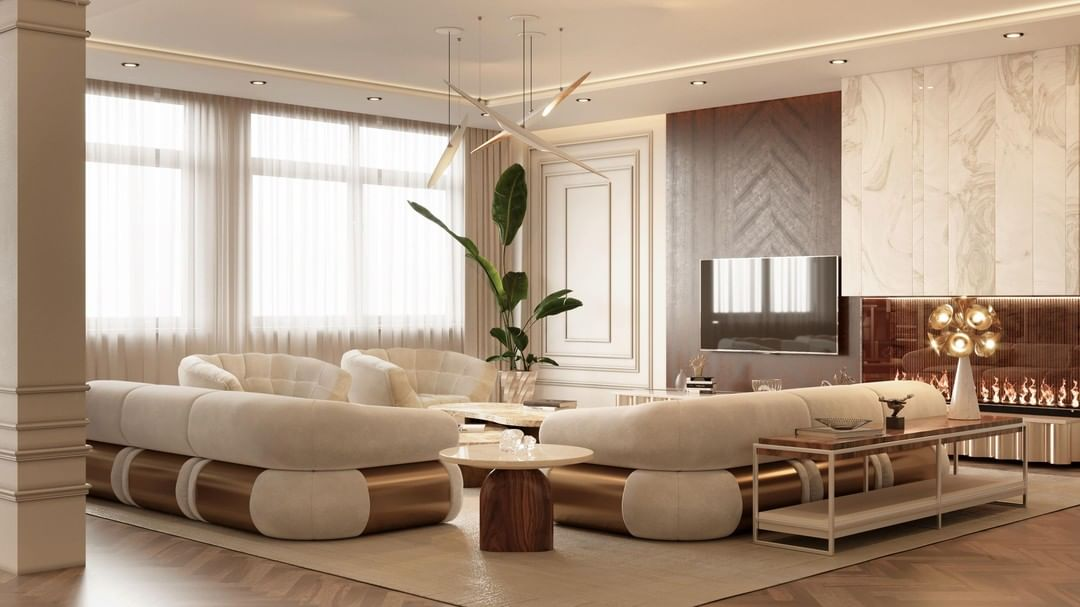 IN NEUTRAL TONES, THE LIVING ROOM YOU WILL WANT IN YOUR HOME