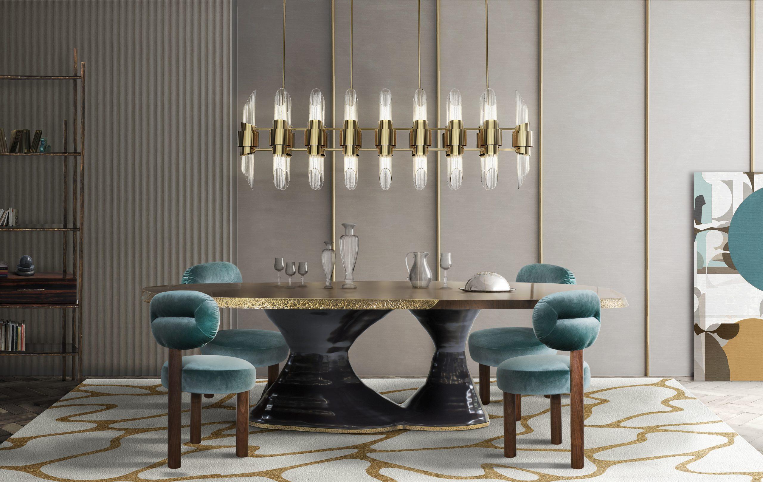 HIGH-END DINING ROOM DESIGN