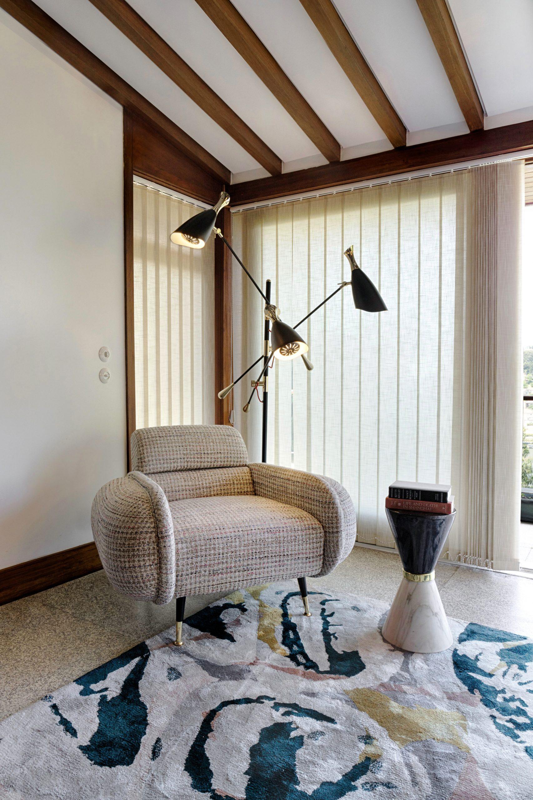 Trendy Living Room Designs For Mid-Century Modern Lovers