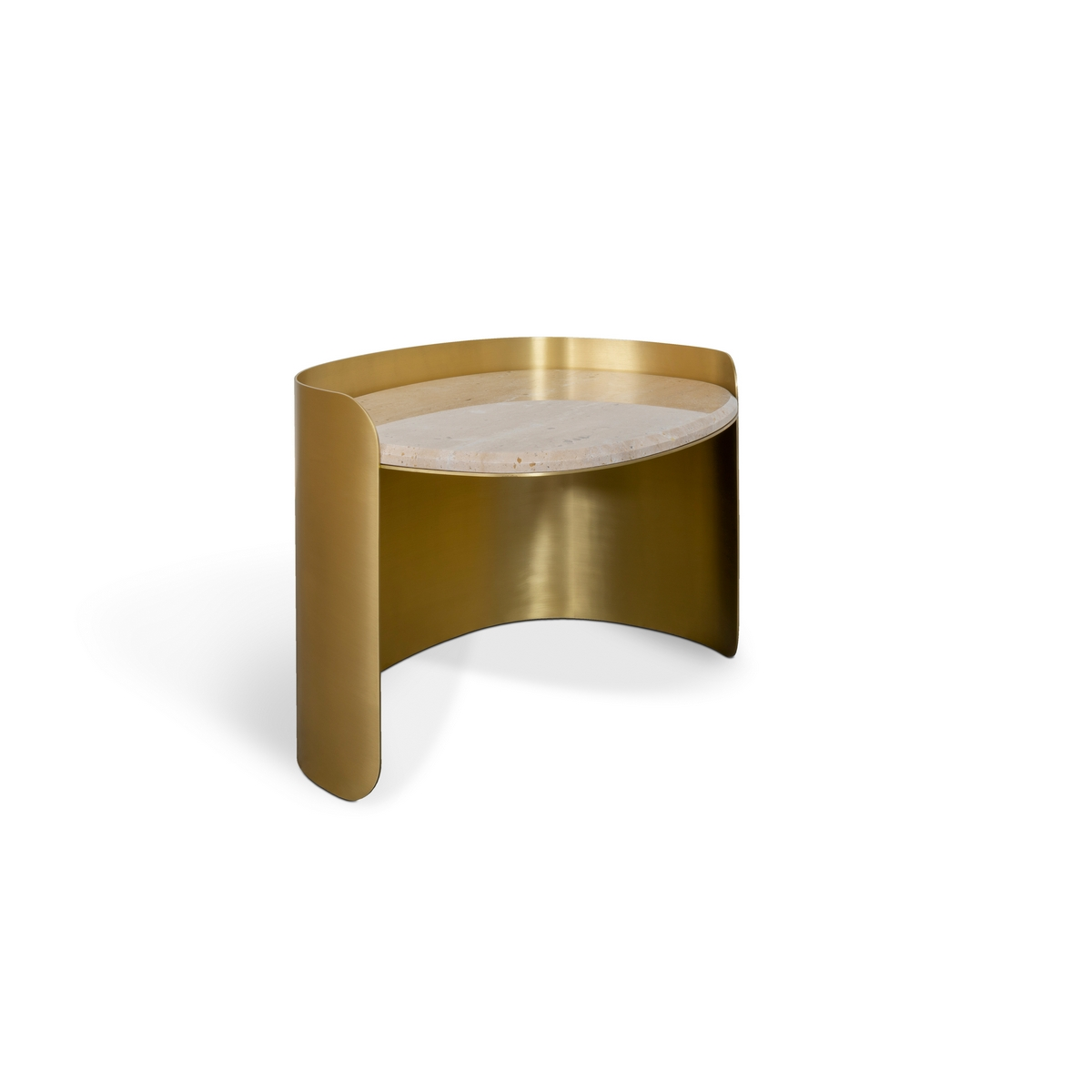 FRANCIS SCOTT OVAL SIDE TABLE