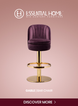 Gable Bar Chair
