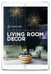 Mid-Century-Bedroom-&-Bathroom design books Design Books Ebook Mid Century Living Room Trends