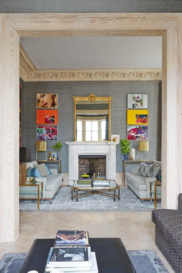 """These historic homes have distinctive architectural details, but they subtly mix contemporary, vintage and antique furnishings. The result? Spaces artfully eclectic, both stylishly edgy and comfortably classic. Step with us inside """"the best of both worlds"""" and see home design ideas!  home design ideas When History meets Modernity: 10 home design ideas 12"""