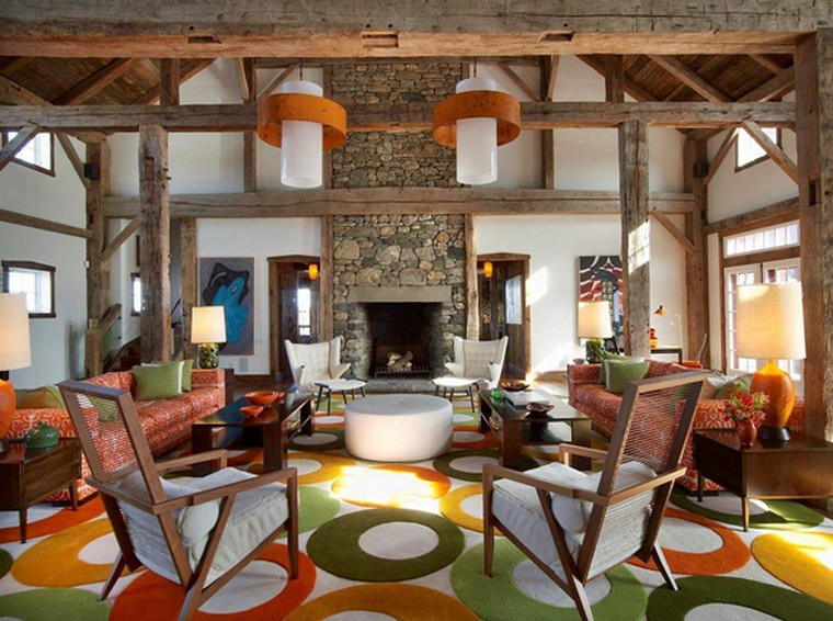 """These historic homes have distinctive architectural details, but they subtly mix contemporary, vintage and antique furnishings. The result? Spaces artfully eclectic, both stylishly edgy and comfortably classic. Step with us inside """"the best of both worlds"""" and see home design ideas!  home design ideas When History meets Modernity: 10 home design ideas Image00001 3"""