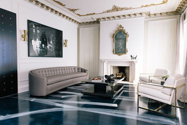 """These historic homes have distinctive architectural details, but they subtly mix contemporary, vintage and antique furnishings. The result? Spaces artfully eclectic, both stylishly edgy and comfortably classic. Step with us inside """"the best of both worlds"""" and see home design ideas!  home design ideas When History meets Modernity: 10 home design ideas Old vs New Historic homes with modern appeal 3"""