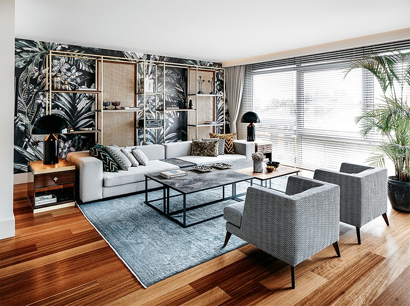 A midcentury modern penthouse in magical Istanbul