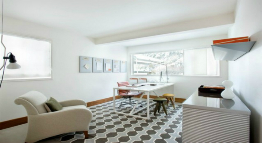2 Mid-Century Modern Home Office Design home office design Mid-Century Modern Home Office Design 2pop 1