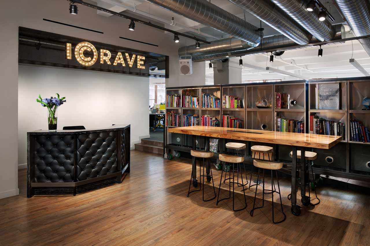 a space that encourages collaboration icrave s nyc office