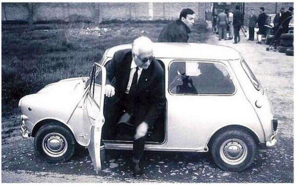 A classic British Icon a classic british icon A classic British Icon Celebrity Mini Owners Enzo Ferrari 1024x637