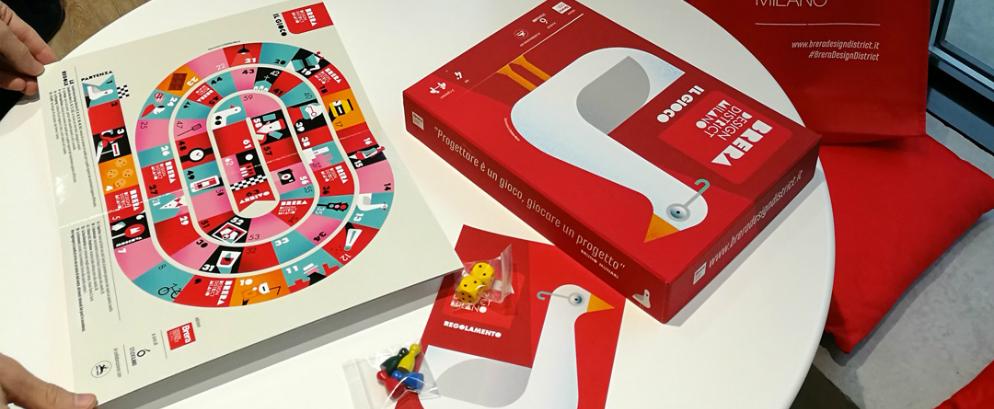 Brera Design District pays tribute to Munari's 'design is a game'