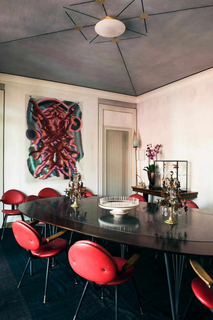 Nina Yashar's incredible Midcentury furnished apartment