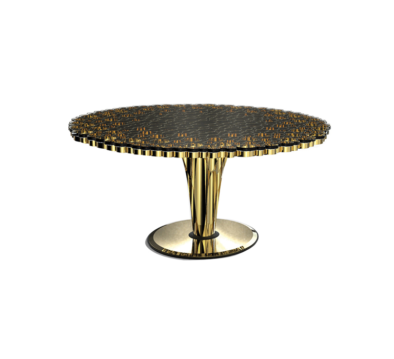 Trends for 2017: Dining Tables to inspire dining tables Trends for 2017: Dining Tables to inspire wormley dining table detail 01