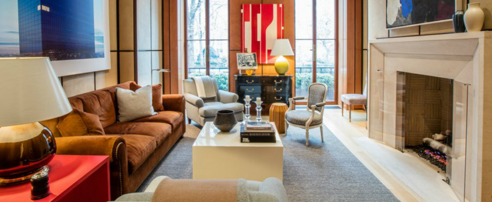 Gramercy Park Triplex designed by Eric Cohler