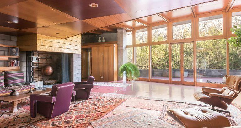 frank lloyd wright houses 5 Mid-Century Frank Lloyd Wright Houses that Can be Yours! 5 Mid Century Frank Lloyd Wright Houses that Can be Yours feat 768x410