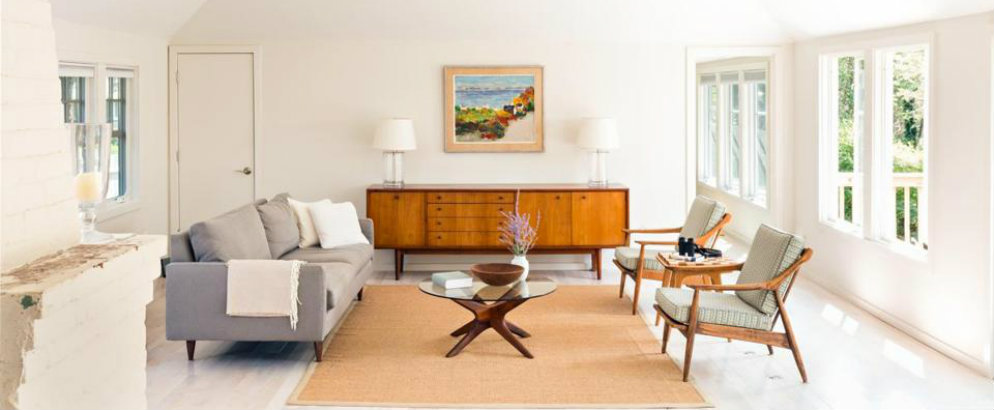 Redesigning A Summer Cottage With Mid Century Style