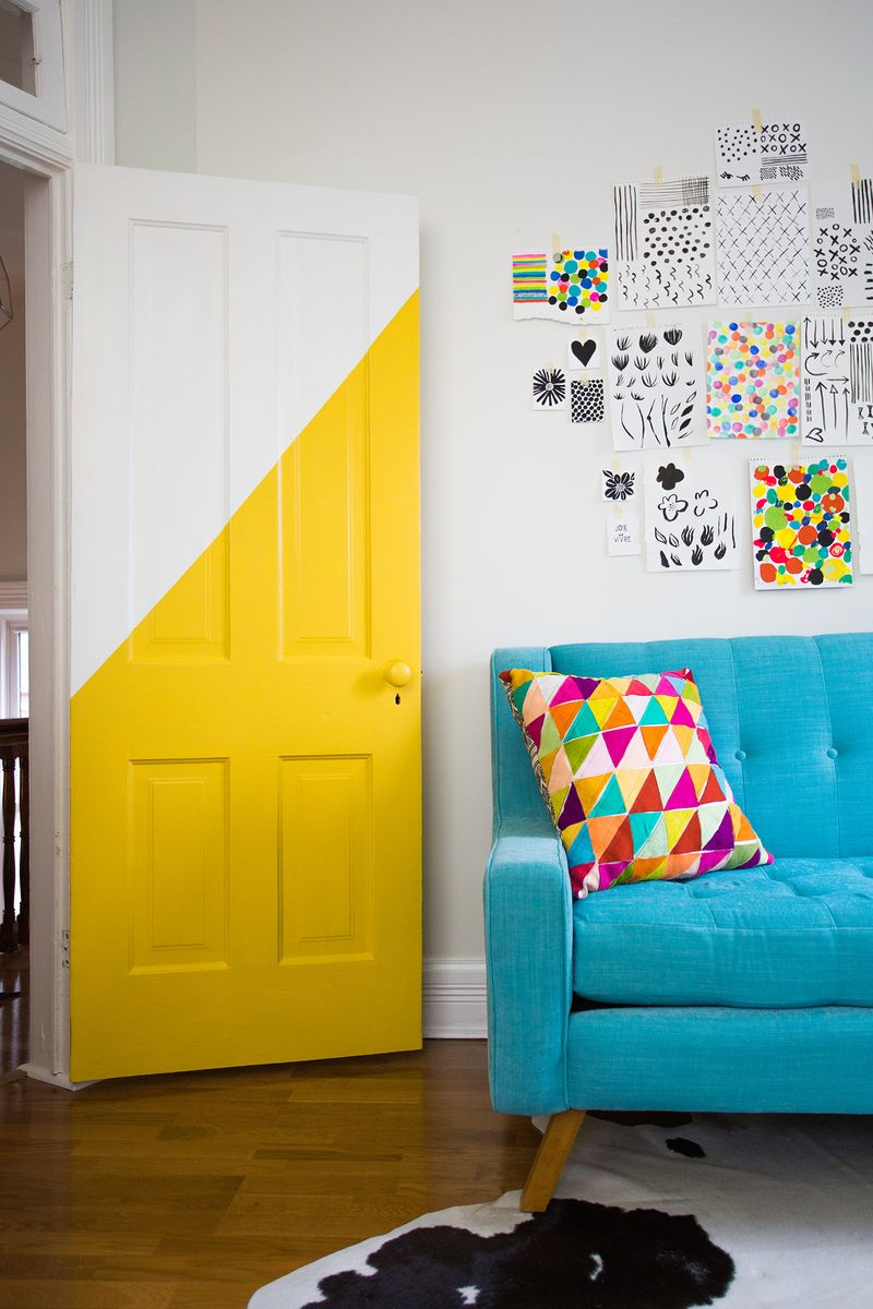 How to Use Colour Blocking Trend In your Mid-Century Home