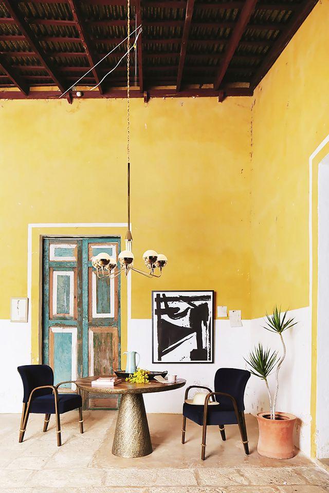 Colour Blocking Trend colour blocking trend How to Use Colour Blocking Trend In your Mid-Century Home How to Use Colour Blocking Trend In your Mid Century Home 5