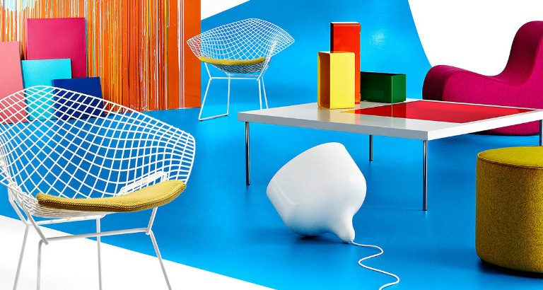 colour blocking trend How to Use Colour Blocking Trend In your Mid-Century Home images 768x410