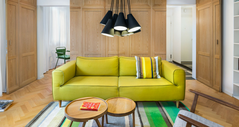 A Colorful Mid-Century Modern Apartment in Sofia You Need to See! mid-century modern apartment A Colorful Mid-Century Modern Apartment in Sofia You Need to See! A Colorful Mid Century Modern Apartment in Sofia You Need to See feat 768x410