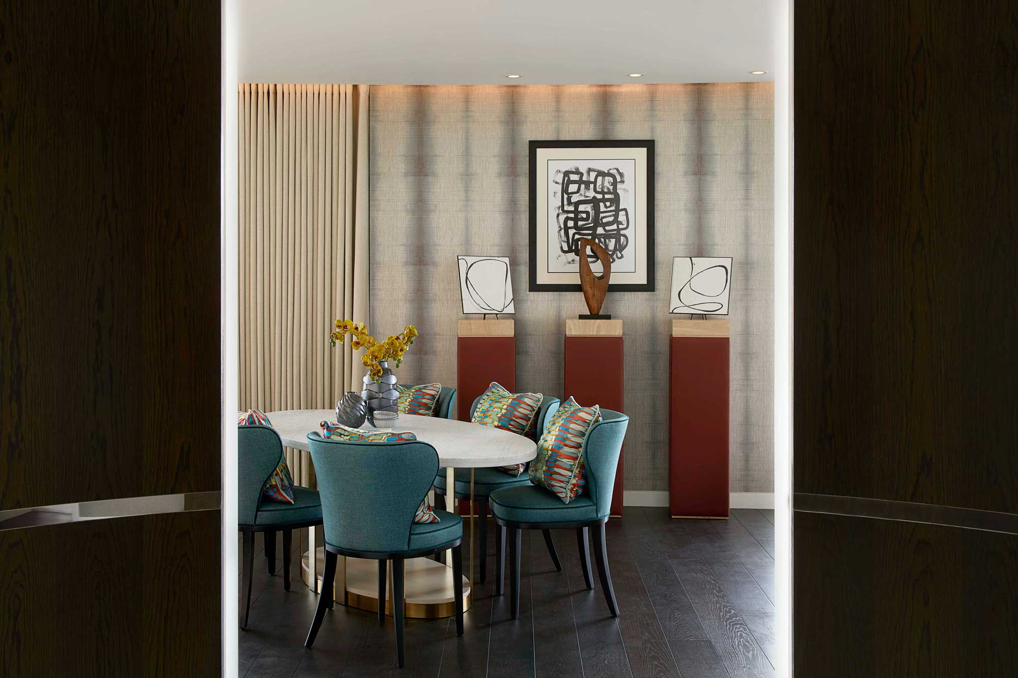 How Morpheus London Brought the River Into this Westminster Apartment westminster apartment How Morpheus London Brought the River Into this Westminster Apartment How Morpheus London Brought the River Into this Westminster Apartment 1