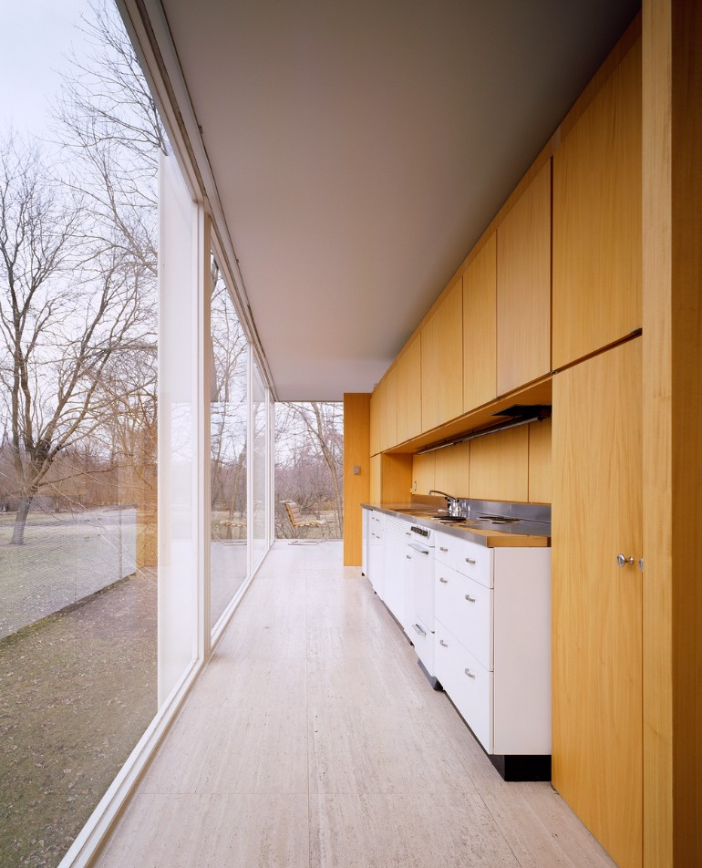 Mid-Century Modern Icons- The Farnsworth House by Mies van der Rohe