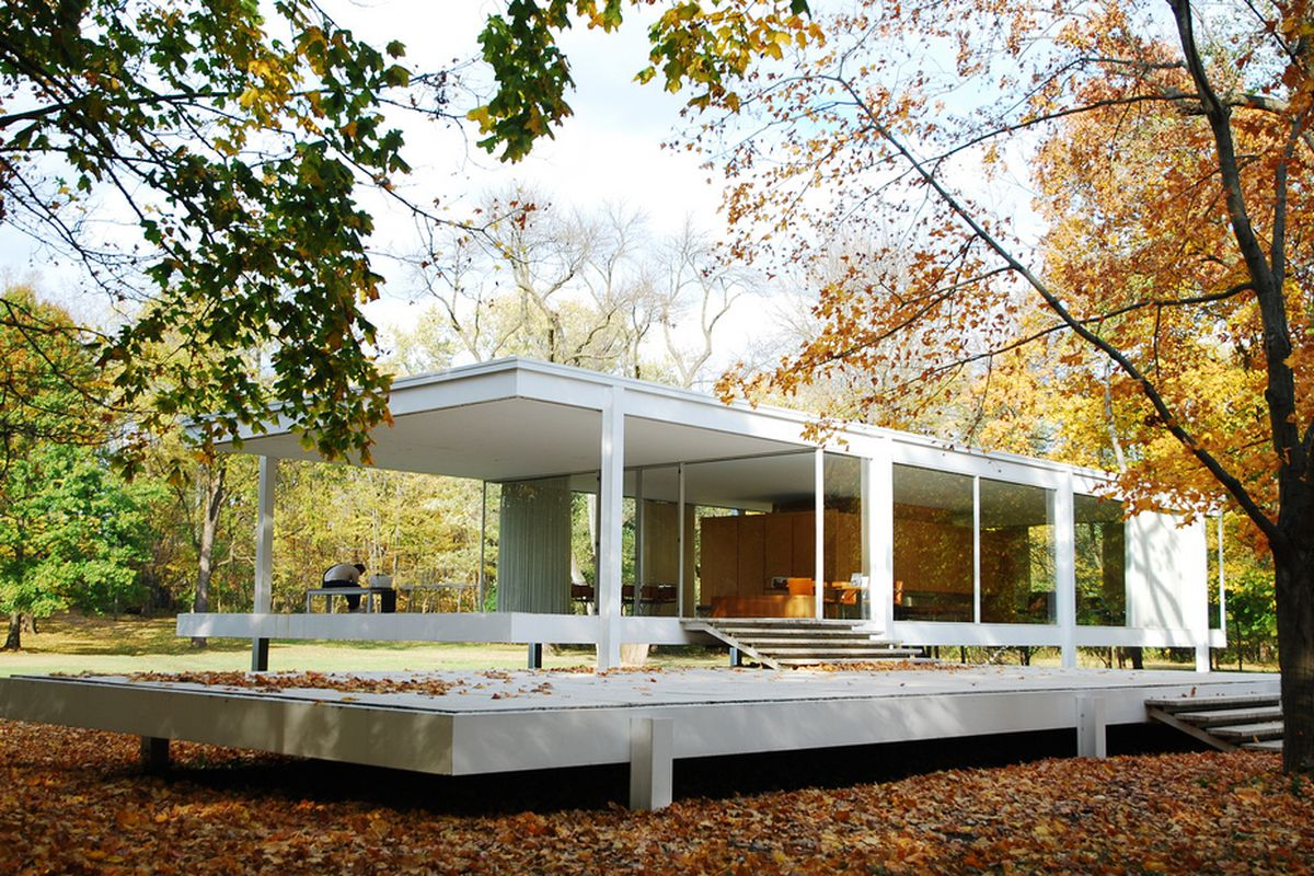 Mid Century Modern Icons The Farnsworth House By Mies Van