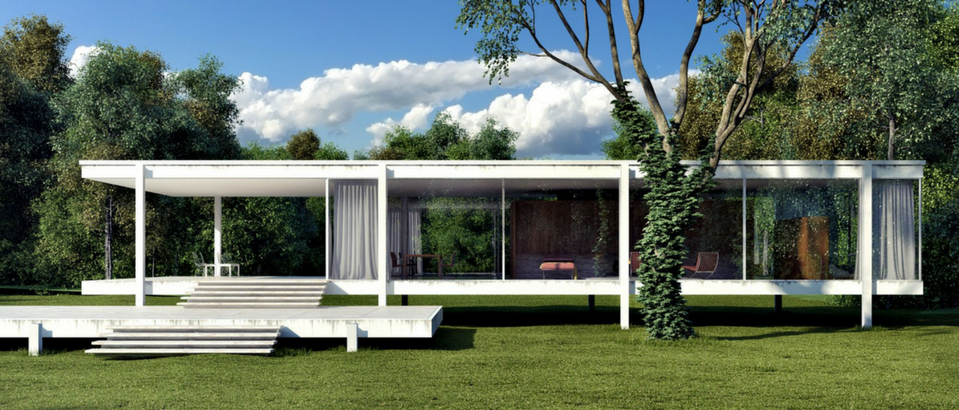 Mid Century Modern Icons The Farnsworth House By Mies Van Der Rohe