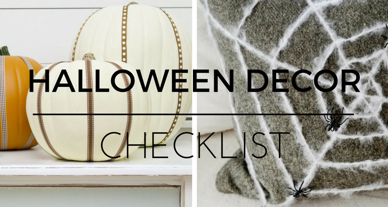 The Ultimate Checklist for a Chic Halloween Home Decor
