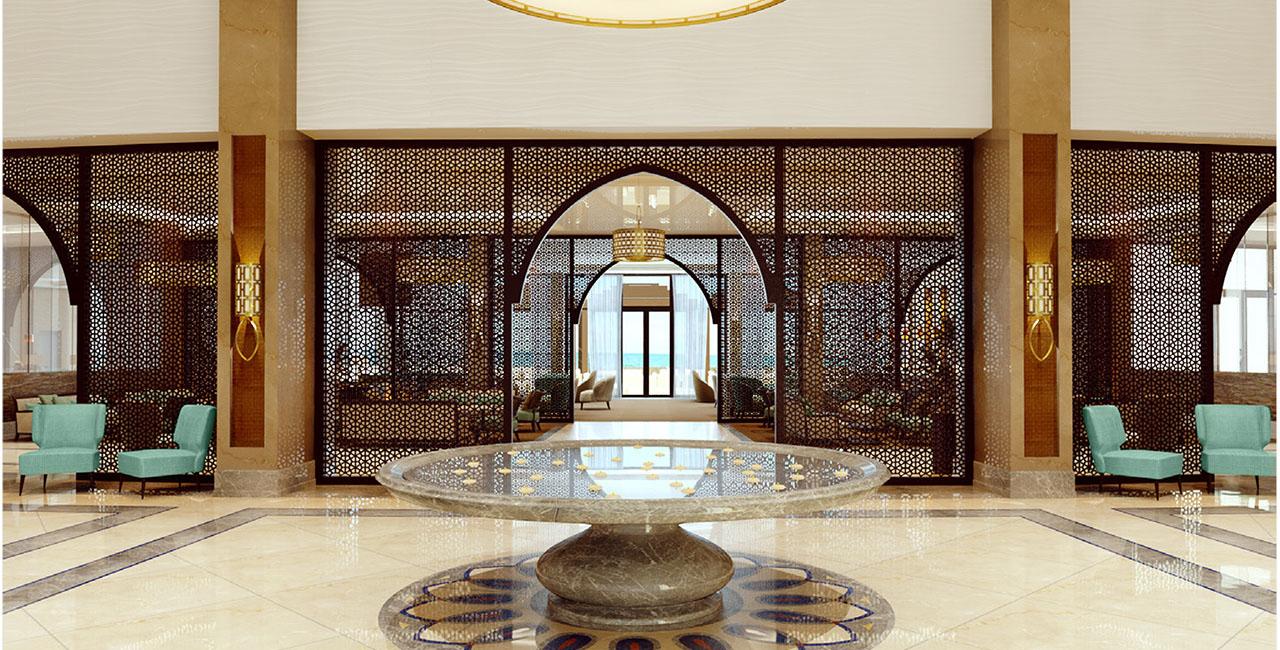 When Interior Design In Dubai Is As Unique As A Blue Camel