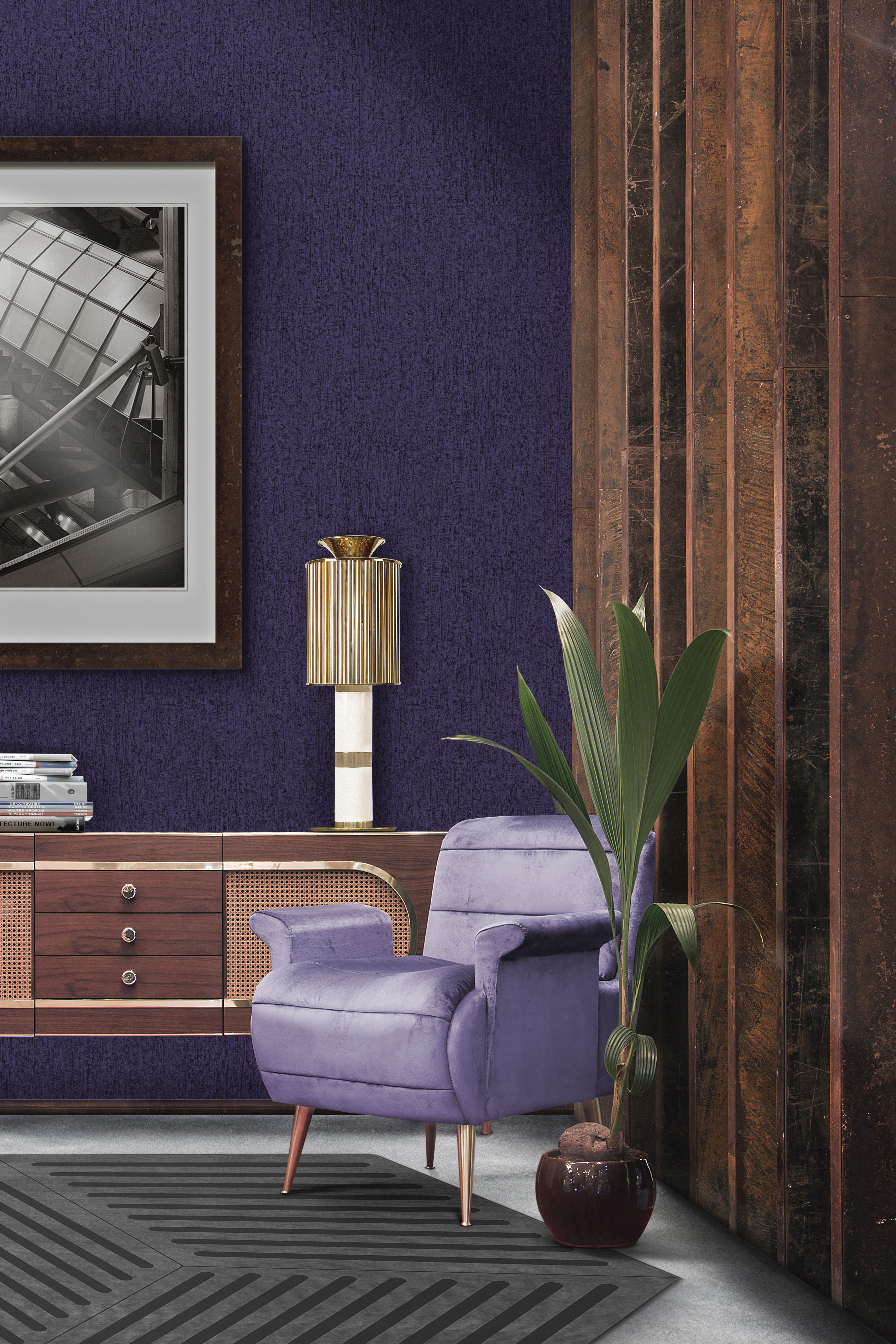 7 Essential Ways to Make Ultra Violet the Star of Your Home Decor_1 ultra violet 7 Essential Ways to Make Ultra Violet the Star of Your Home Decor 5 Essential Ways to Make Ultra Violet the Star of Your Home Decor 1