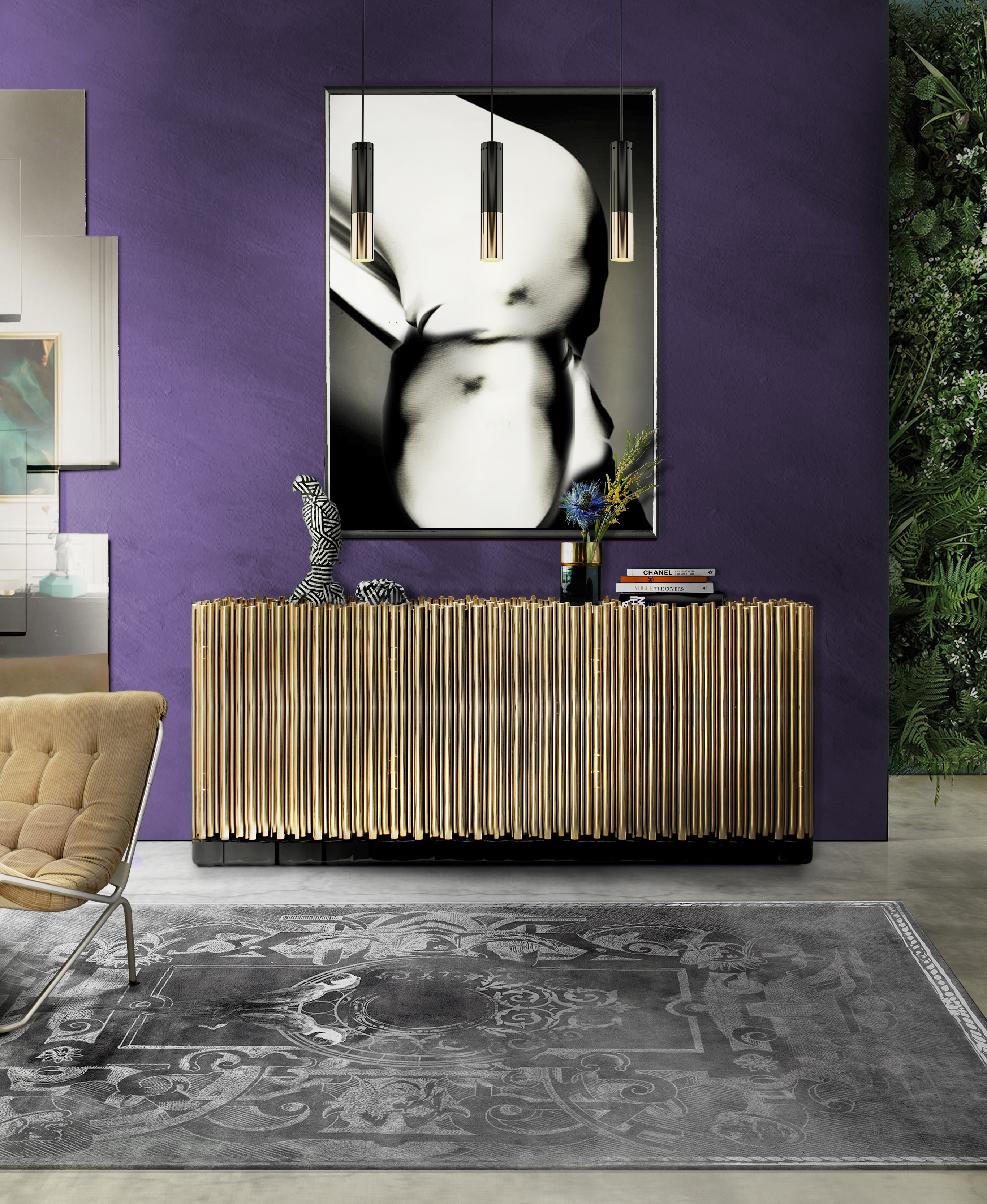 7 Essential Ways to Make UltraViolet the Star of Your Home Decor_1 ultra violet 7 Essential Ways to Make Ultra Violet the Star of Your Home Decor 5 Essential Ways to Make Ultra Violet the Star of Your Home Decor 2