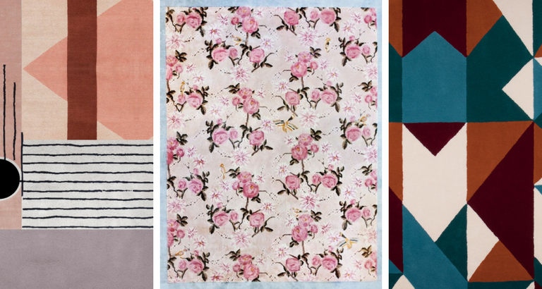 Floral and Geometric Rugs That Are Truly Instagram-Worthy_feat