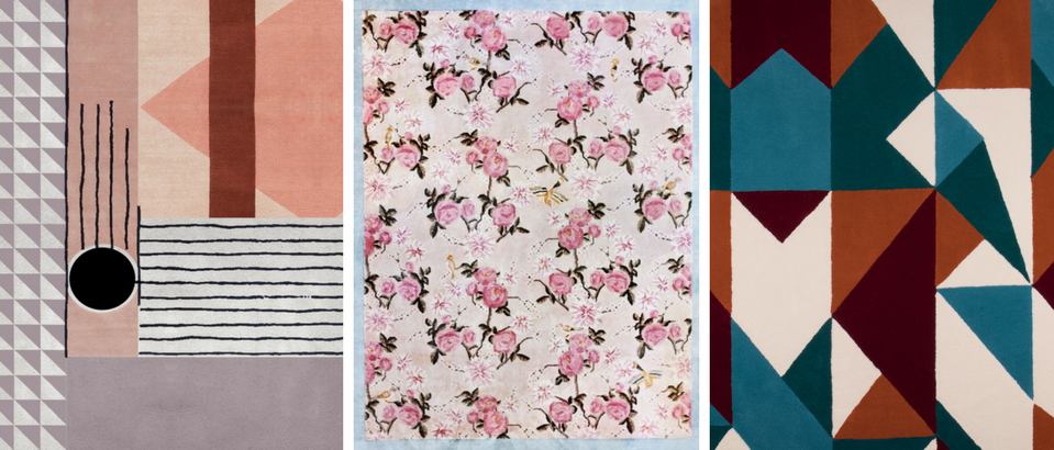 Floral and Geometric Rugs That Are Truly Instagram-Worthy_feat geometric rugs Floral and Geometric Rugs That Are Truly Instagram-Worthy Floral and Geometric Rugs That Are Truly Instagram Worthy feat 959x410