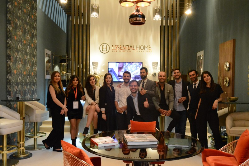 Salone del Mobile 2018 Essential Home's Stand and Its Amazing Team_2