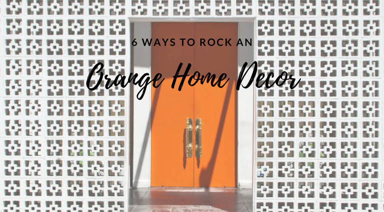 6 Ways You Can Use Orange In Your Mid-Century Decor this Summer_feat