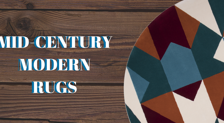 A Touch of Life With Mid-Century Modern Rugs