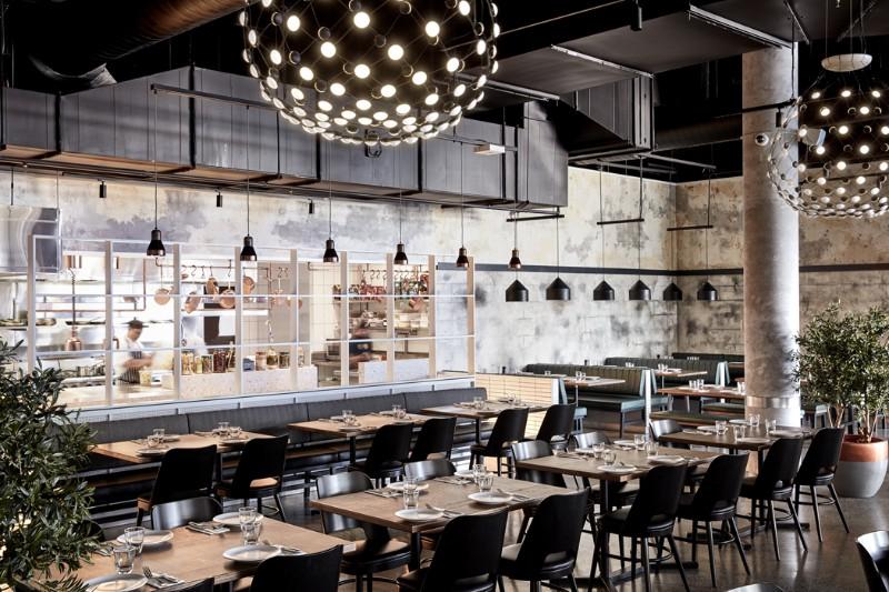 Luchetti Krelle Interior Designs Mid Century Modern Restaurants Architecture And Design