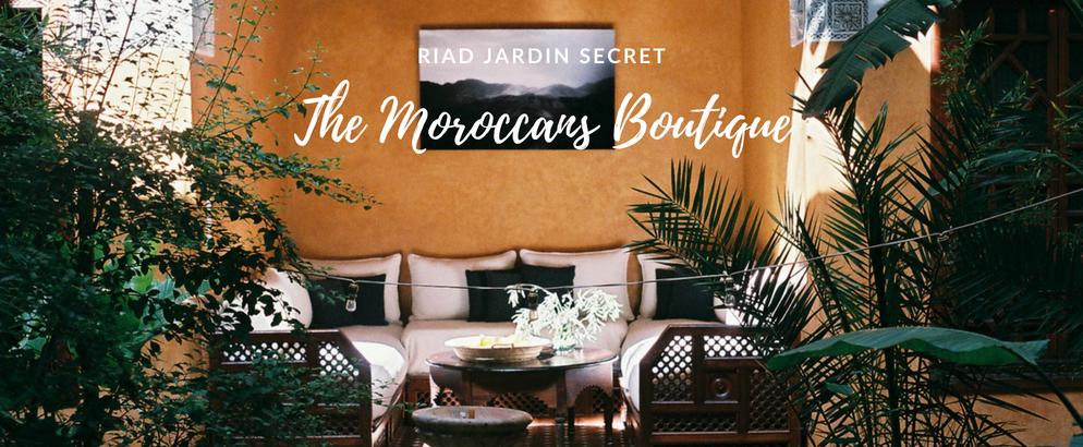 Fall in Love w Moroccan's Boutique at Riad Jardin Secret in Marrakech_1 riad jardin secret Fall in Love w/ The Moroccans' Boutique at Riad Jardin Secret in Marrakesh Fall in Love w The Moroccans Boutique at Riad Jardin Secret in Marrakech feat 994x410