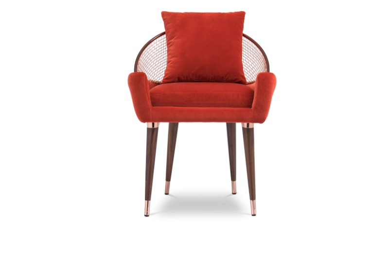 These Orange Dining Chairs Will Convince You to Go Mid-Century_1 orange dining chairs These Orange Dining Chairs Will Convince You to Go Mid-Century These Orange Dining Chairs Will Convince You to Go Mid Century 4
