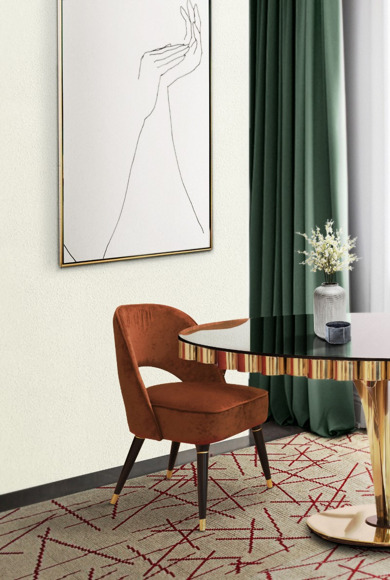 These Orange Dining Chairs Will Convince You to Go Mid-Century_1 orange dining chairs These Orange Dining Chairs Will Convince You to Go Mid-Century These Orange Dining Chairs Will Convince You to Go Mid Century 5