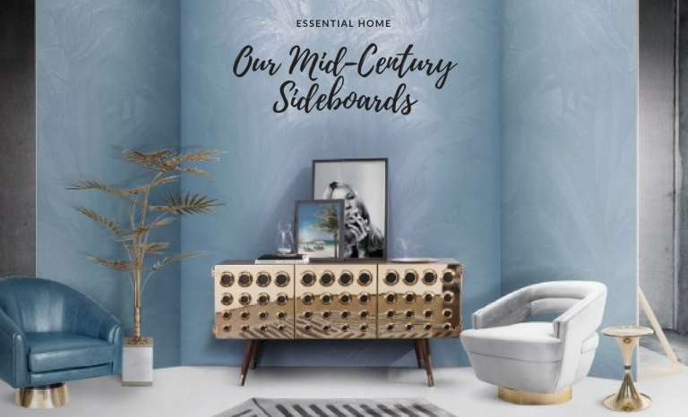 What You Didn't Know About Essential Home's Mid-Century Sideboards