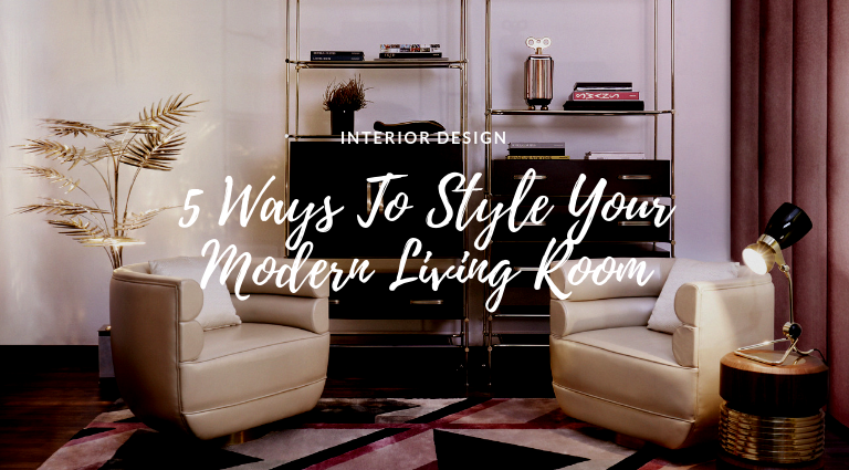 5 Ways To Style Your Modern Living Room For The Holidays