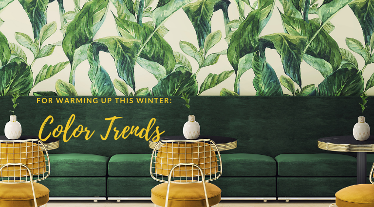 These Are The Color Trends For This Winter You'll Want To Add To Your Home!