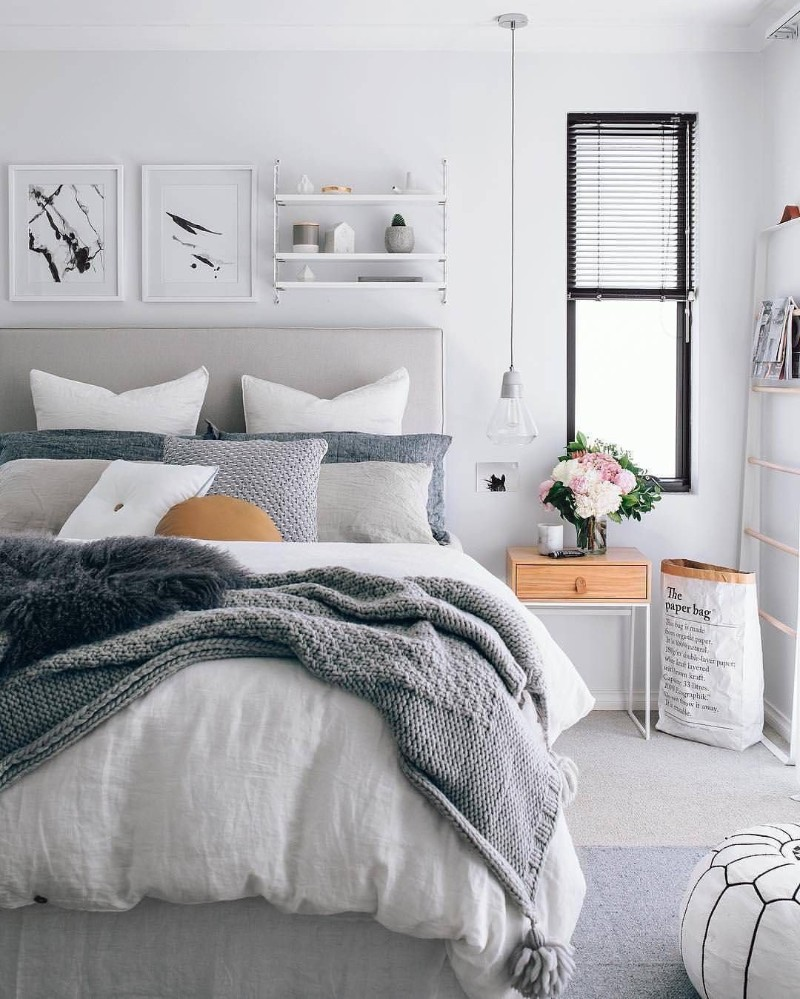 12 Best Ways To Decor Your Bedroom With A Scandinavian Design