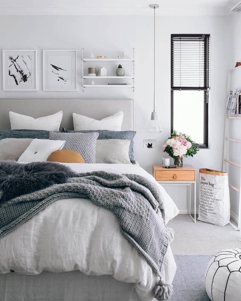 10 Best Ways To Decor Your Bedroom With A Scandinavian Design