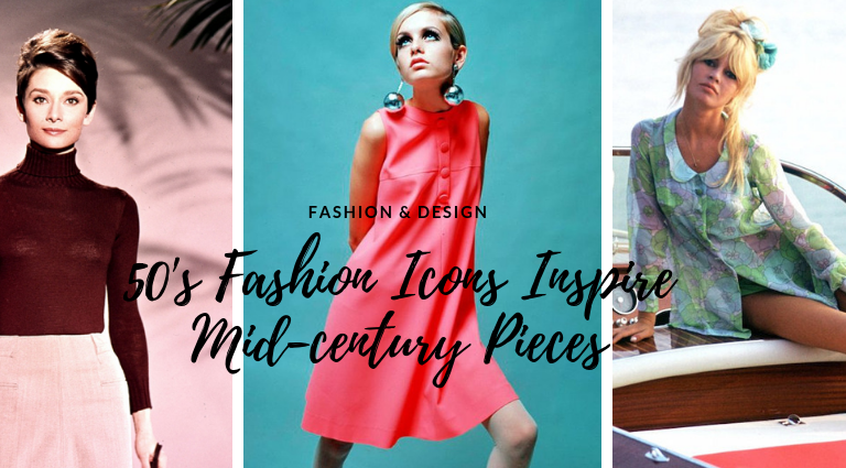 50's Fashion Icons Inspire Design And We're Obsessed With It!
